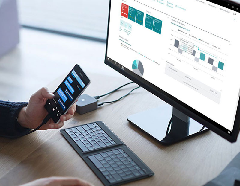 Improve productivity with Microsoft Business Central