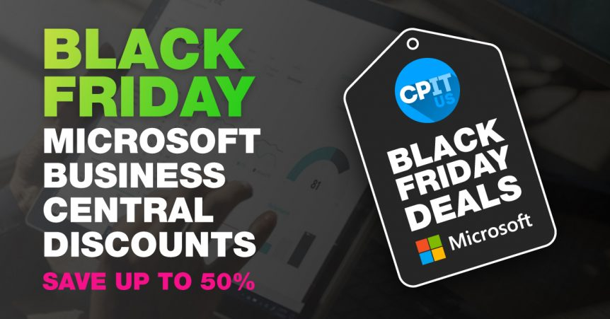 Black Friday Microsoft Business Central Discounts
