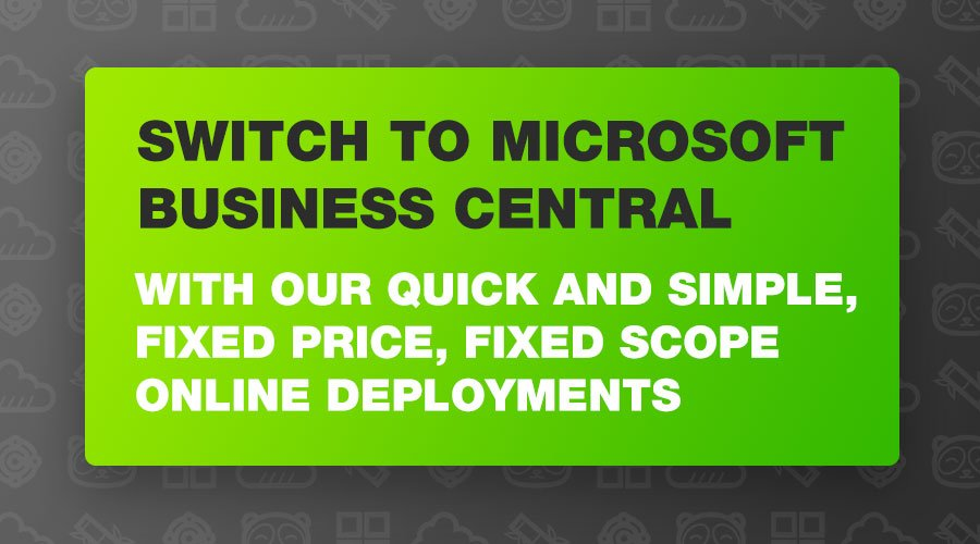 Switch to Business Central with Bam Boom Cloud USA
