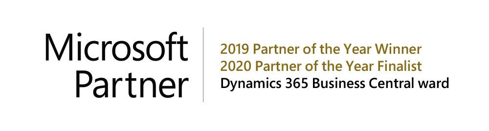 Microsoft Partner of the Year Dynamics 365 Business Central Award