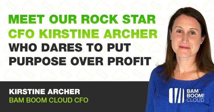 Meet Kirstine Archer, our rock star CFO