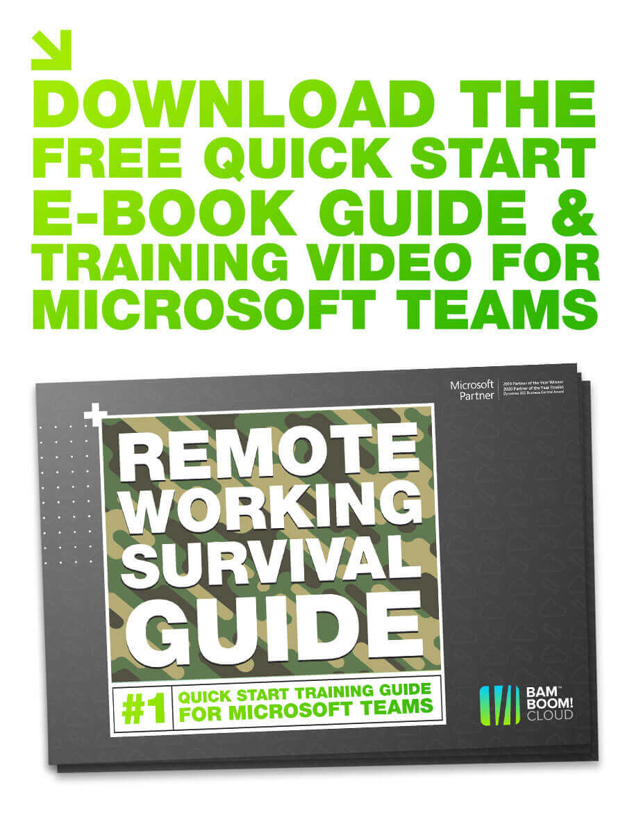 Download the quick start Microsoft Teams training guide
