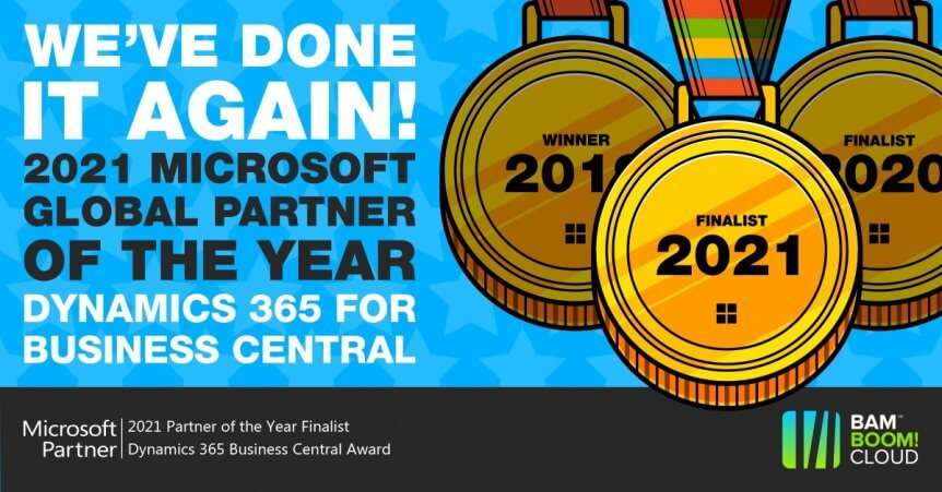 Microsoft Partner of the Year 2021 Finalist - what does it mean for you?