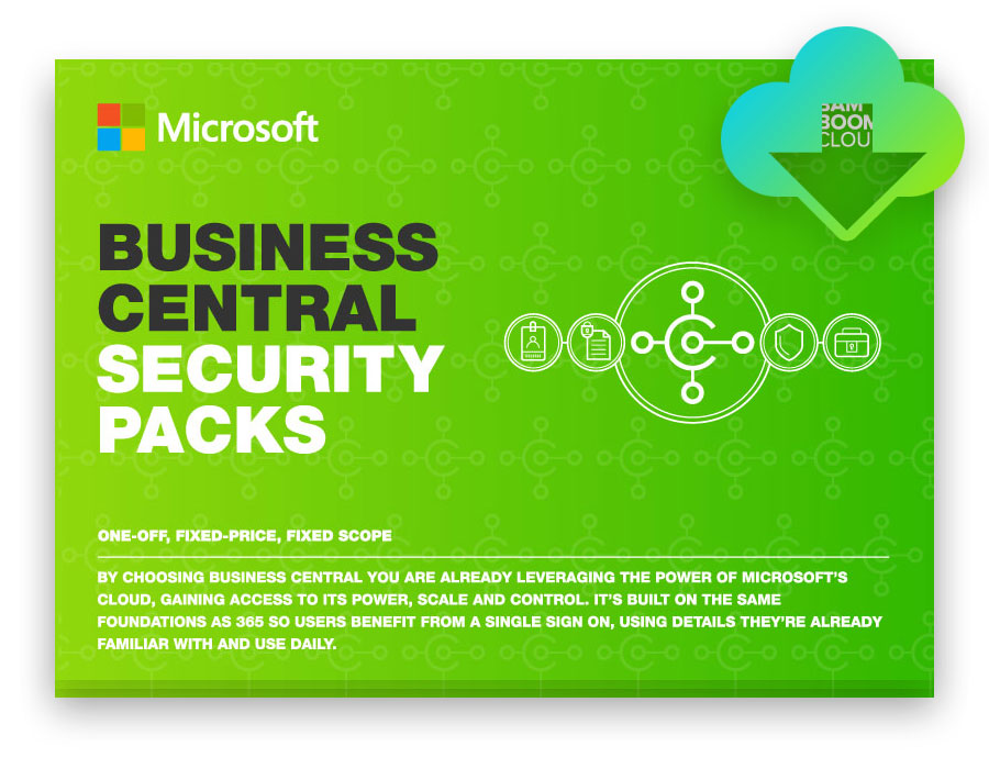 Download the Dynamics 365 Business Central Security Packs PDF