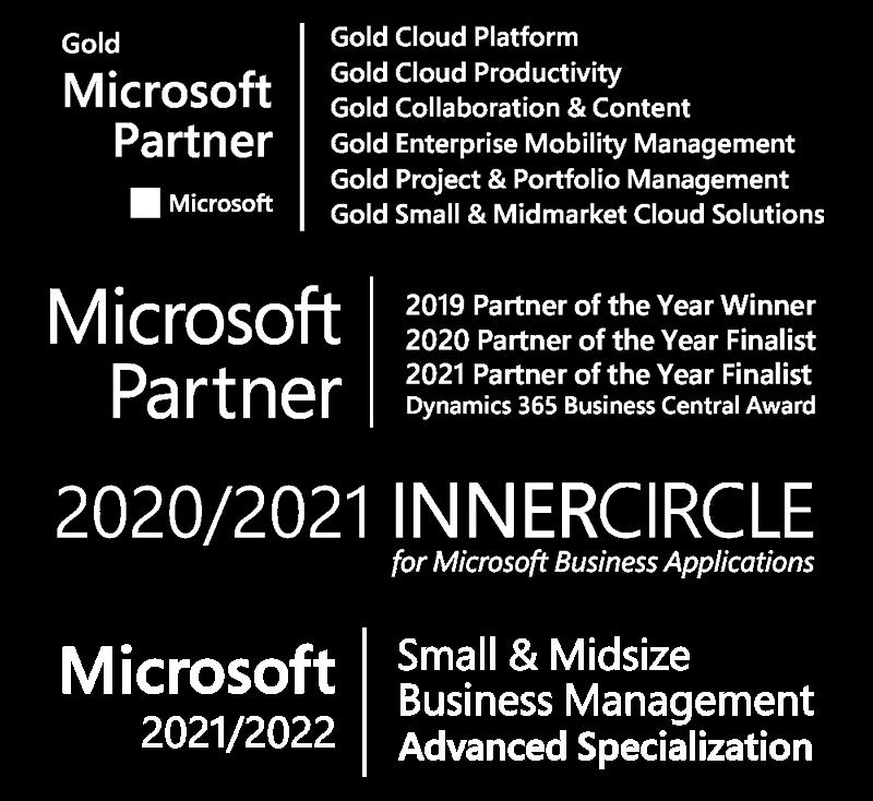 Bam Boom Cloud Microsoft Awards & Certifications