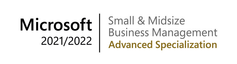 microsoft small midsize business management advanced specialization